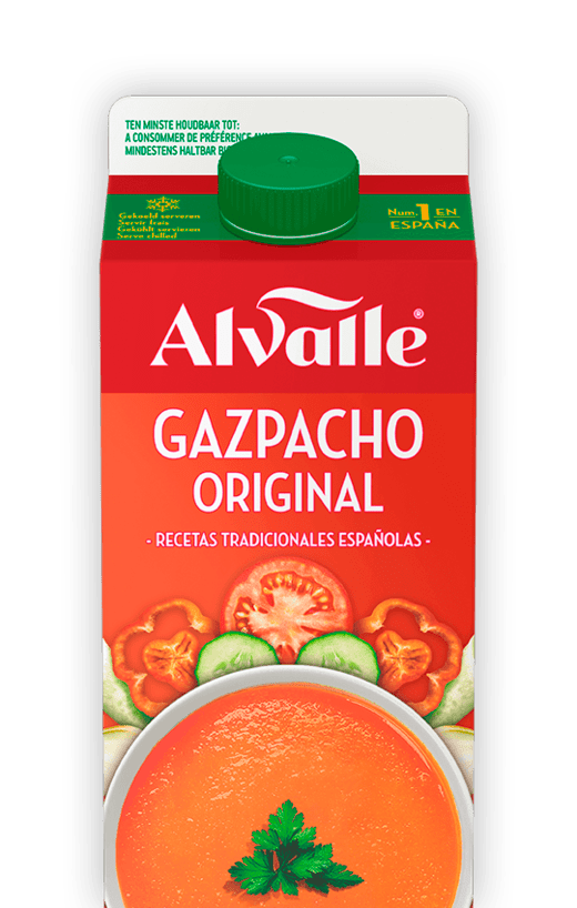 Home recipes gazpacho original